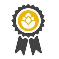 Kvalita: symbol chmeľu v pečati